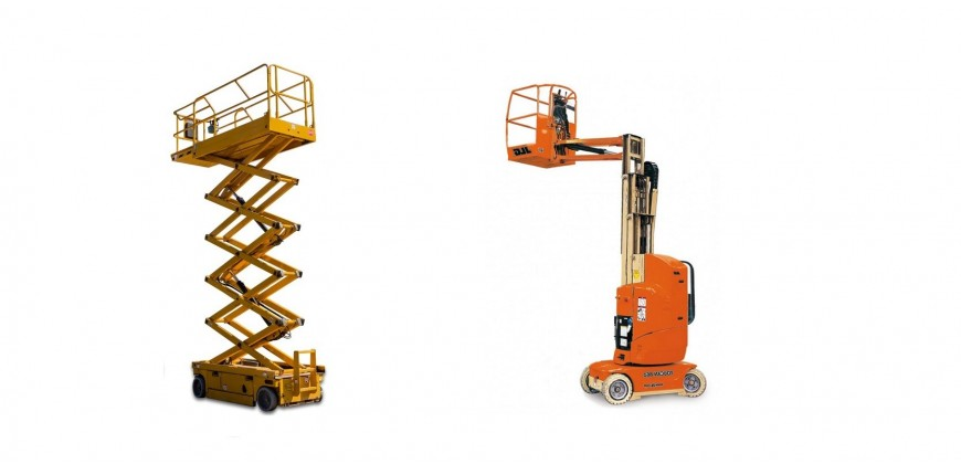 Vertical Scissor Platforms